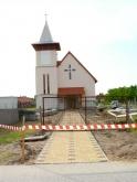 Épülőben a Szent László Római Katolikus Templom