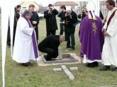 Templomunk alapkőletétele 2009. március 29.